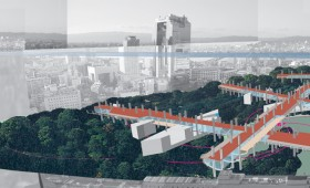 Redevelopment Urban Design Competition, Finalist, Japan