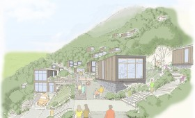 Reconstruction Proposal for a Tohoku Village, Japan
