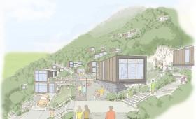 Reconstruction Proposal for a Tohoku Village, Japan
