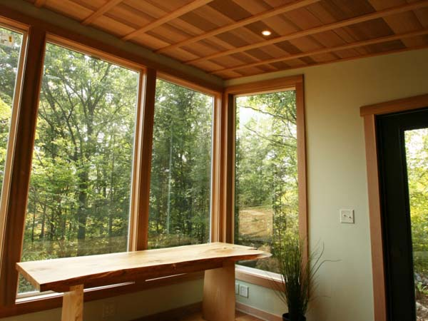 Forest view home office, CT