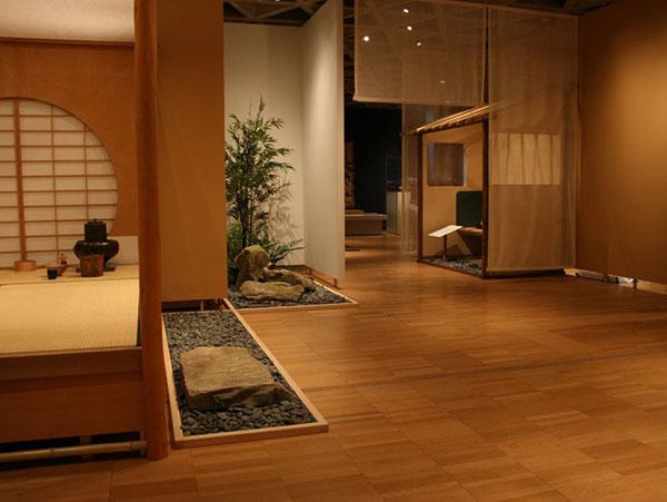 Interior Japanese Garden, Yale University Art Gallery, CT